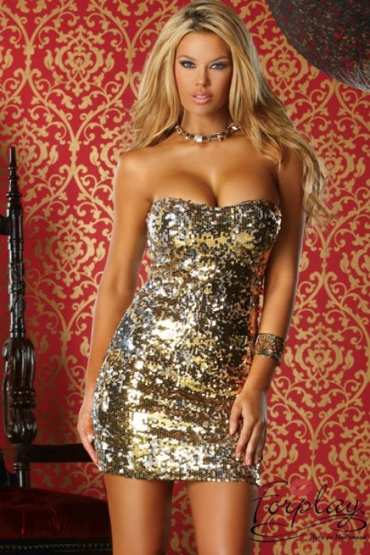 robe-courte-elena-sequins-forplay-dore