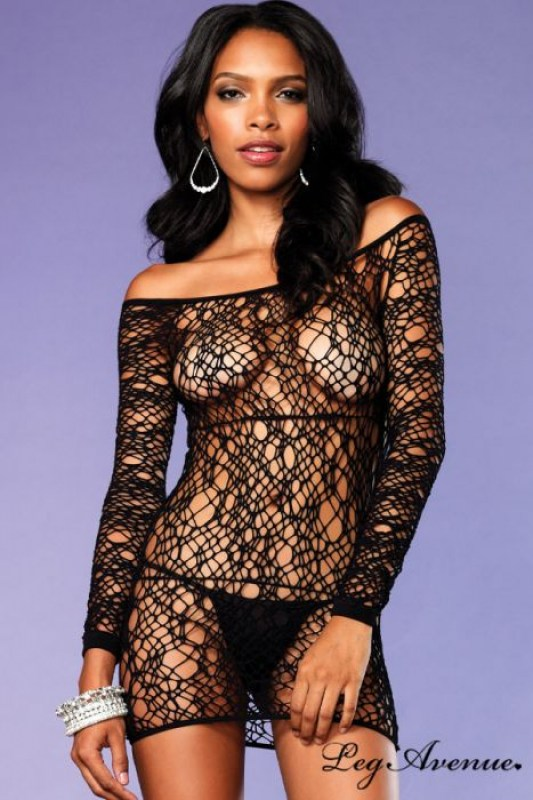 robe-lingerie-manches-longues-filet-web-leg-avenue-image-133022-grande