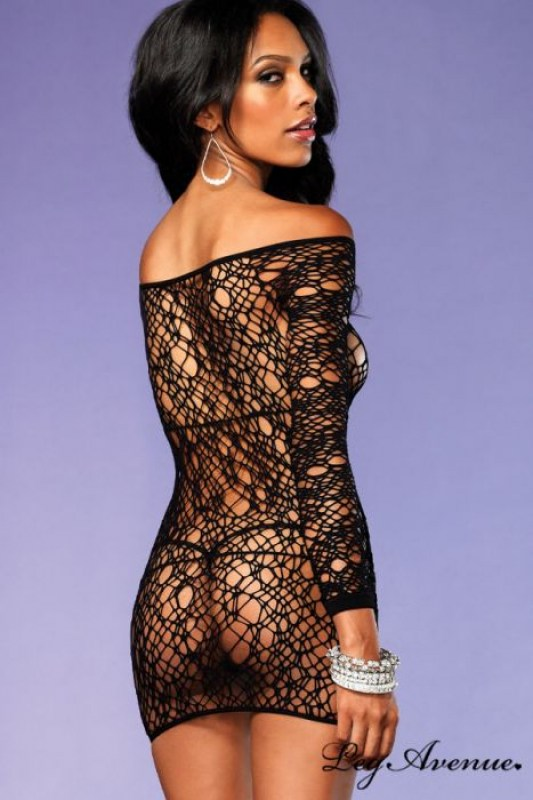robe-lingerie-manches-longues-filet-web-leg-avenue-image-133023-grande