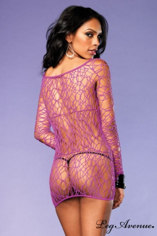 robe-lingerie-manches-longues-filet-web-leg-avenue-image-133880-grande